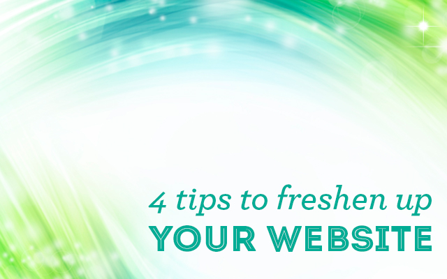 4 Tips for Freshening Up a Dated Website 1
