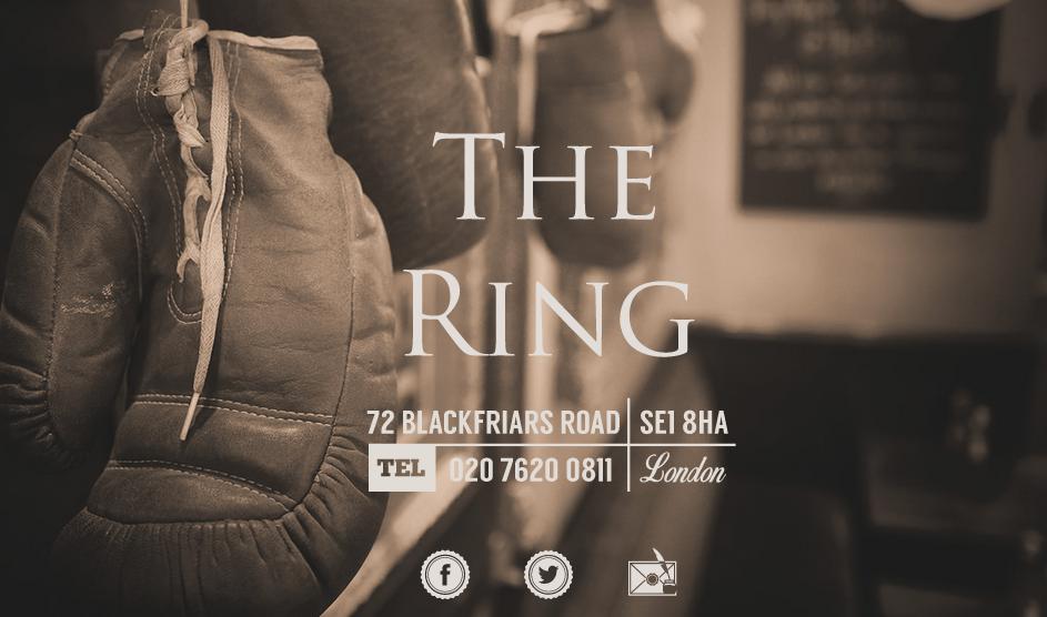 Parallax technique - The Ring Restaurant