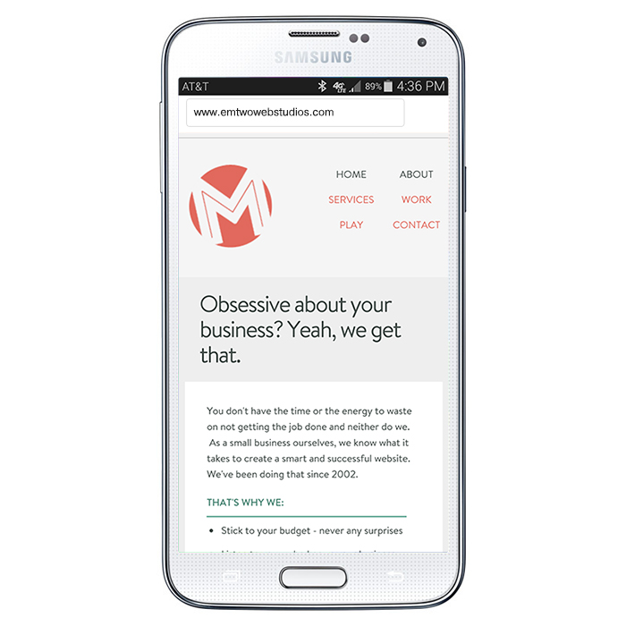 You need a mobile site yesterday