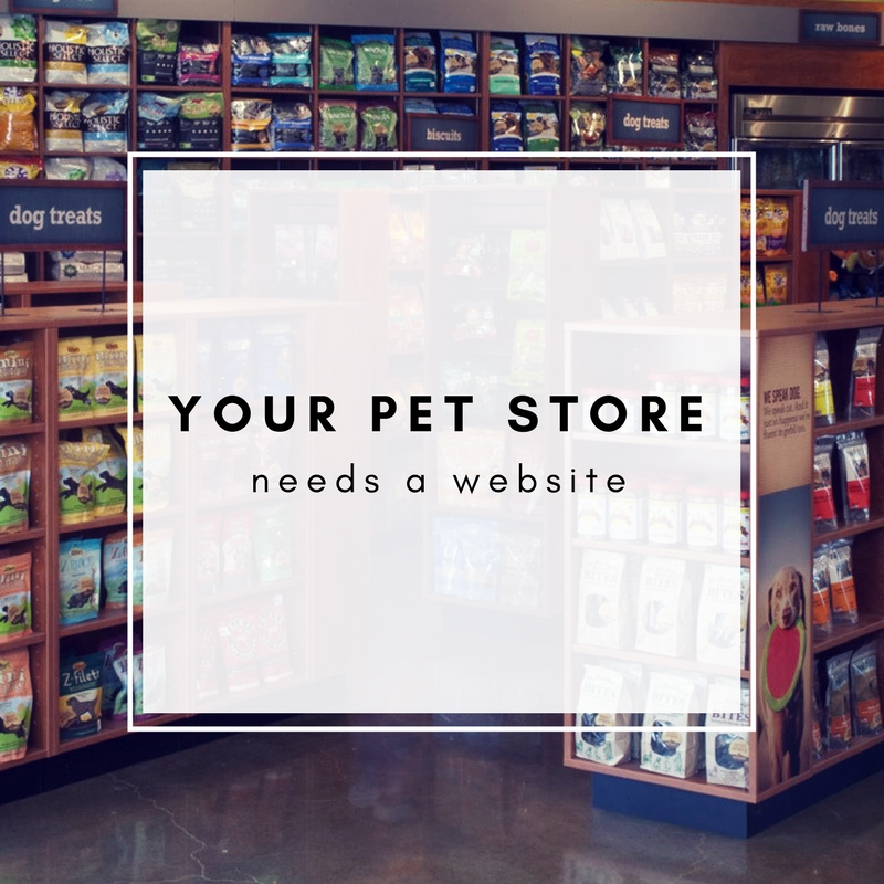 Does my pet store need a website?