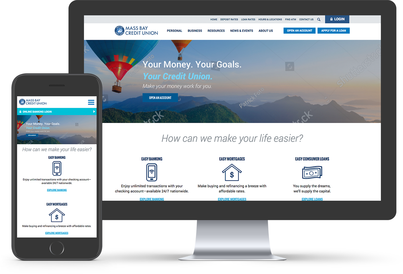 Web Design for Credit Unions