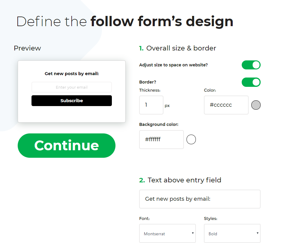 The best alternative to Feedburner: <em>Follow.it</em> 3