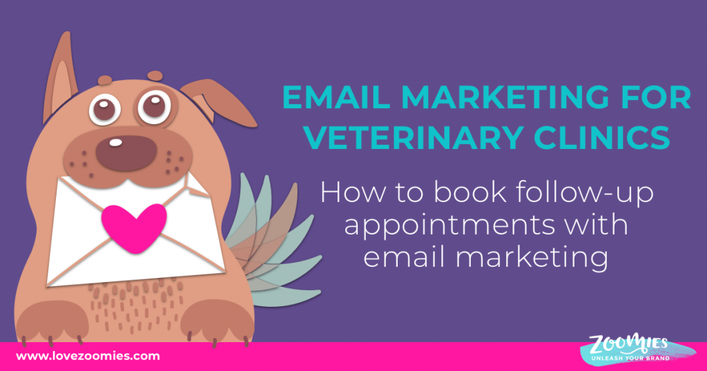 Email marketing for veterinary clinics: How to book follow-up appointments with email marketing